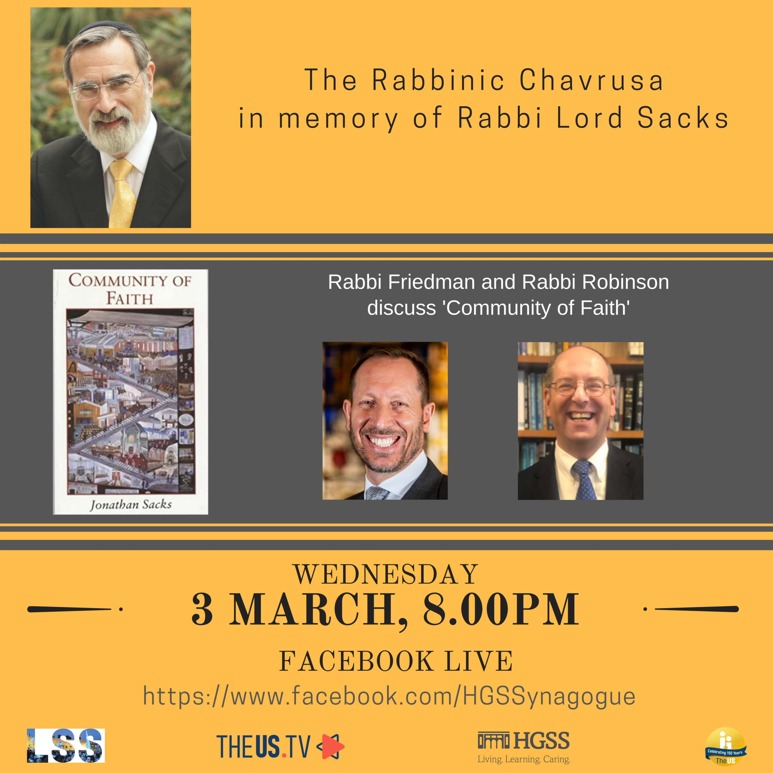 The Rabbinic Chavrusa @ Online