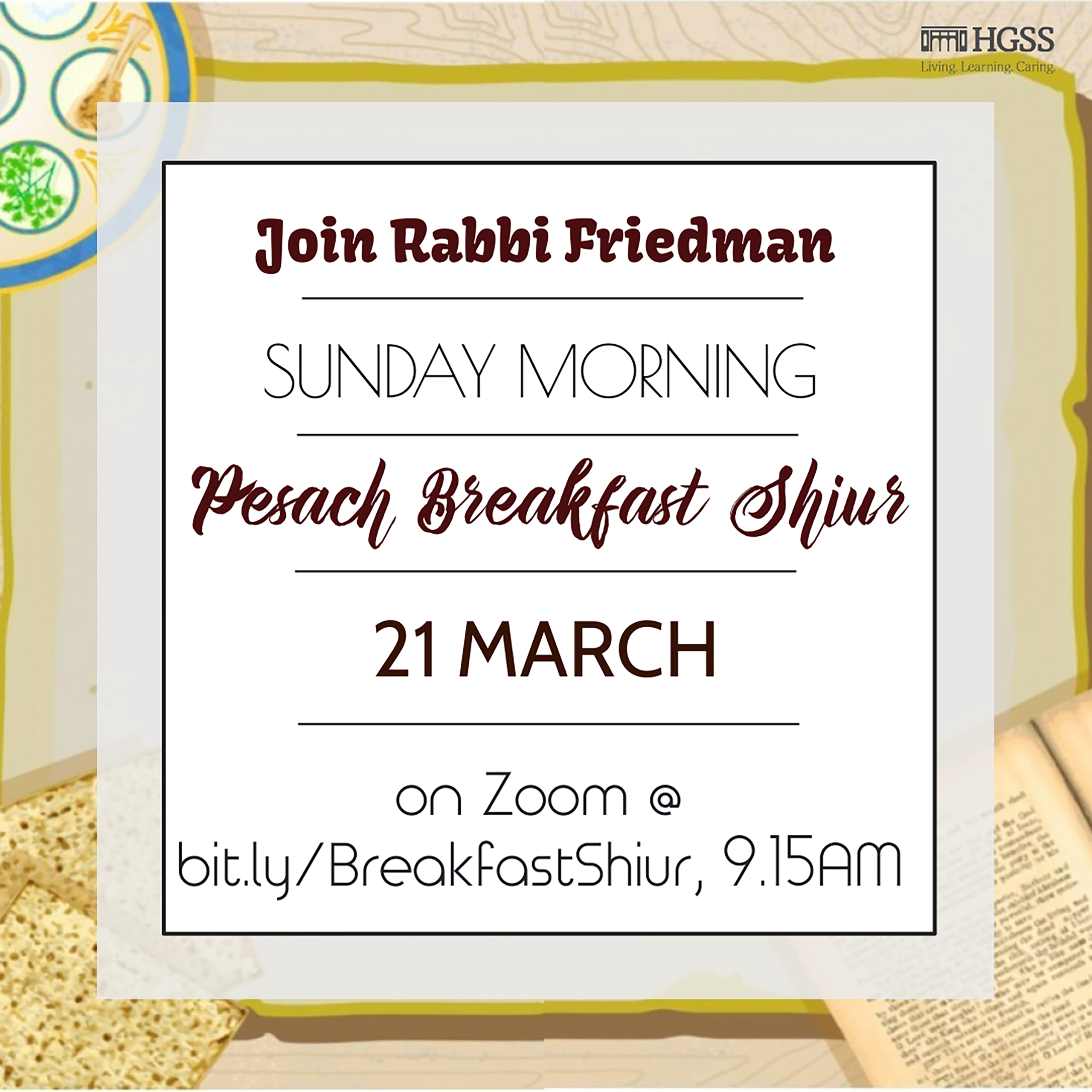 Breakfast Shiur @ Online