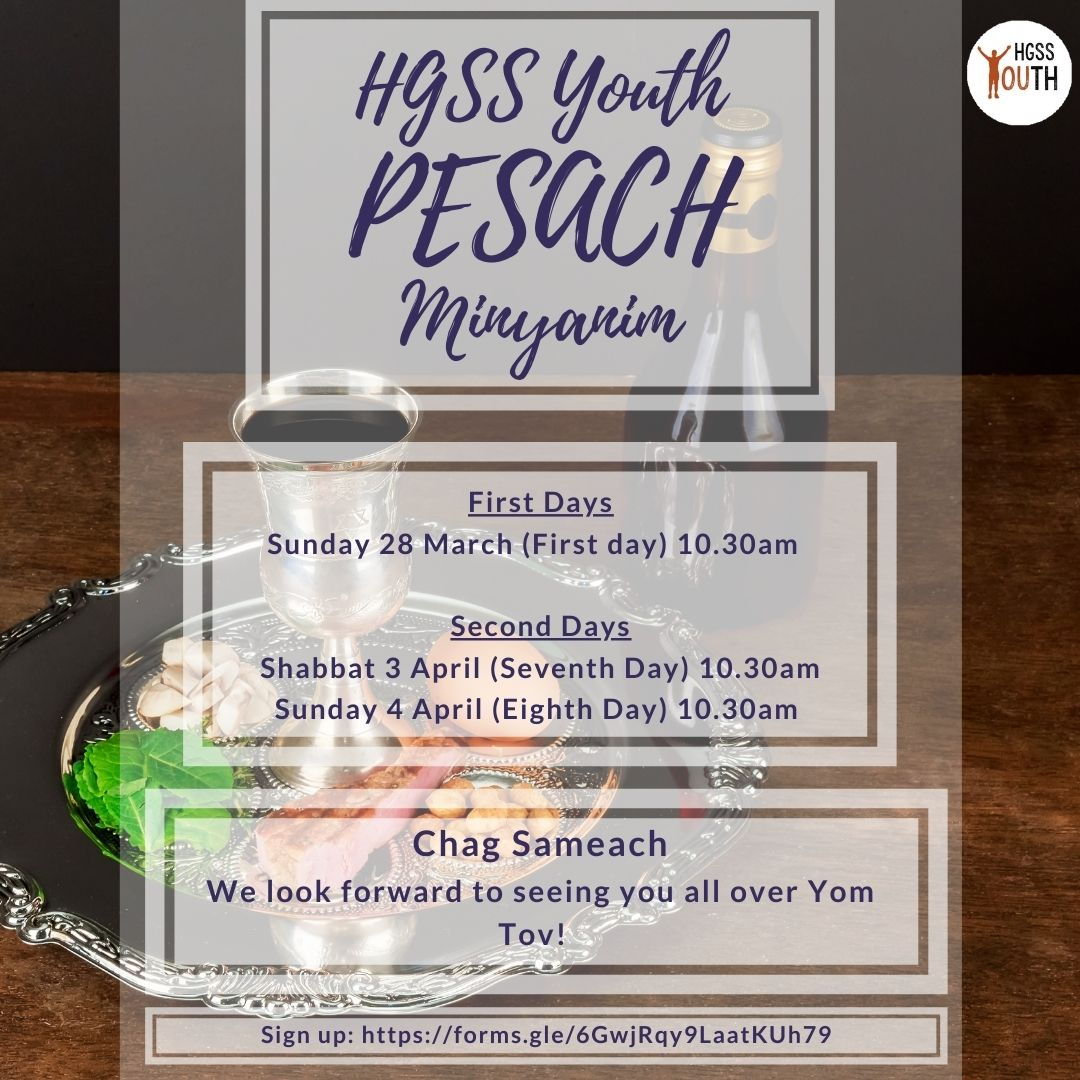 Youth Pesach @ Online