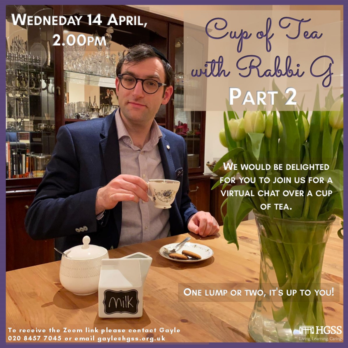 Cup of Tea with Rabbi G (Part 2) @ Zoom