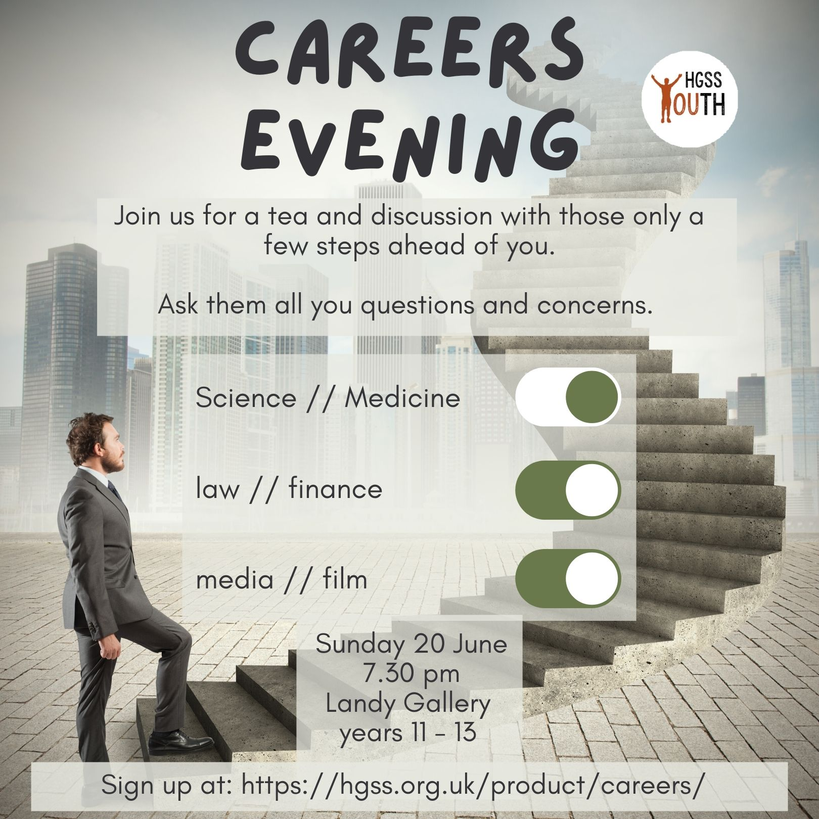 Career Evening @ Hampstead Garden Suburb Synagogue