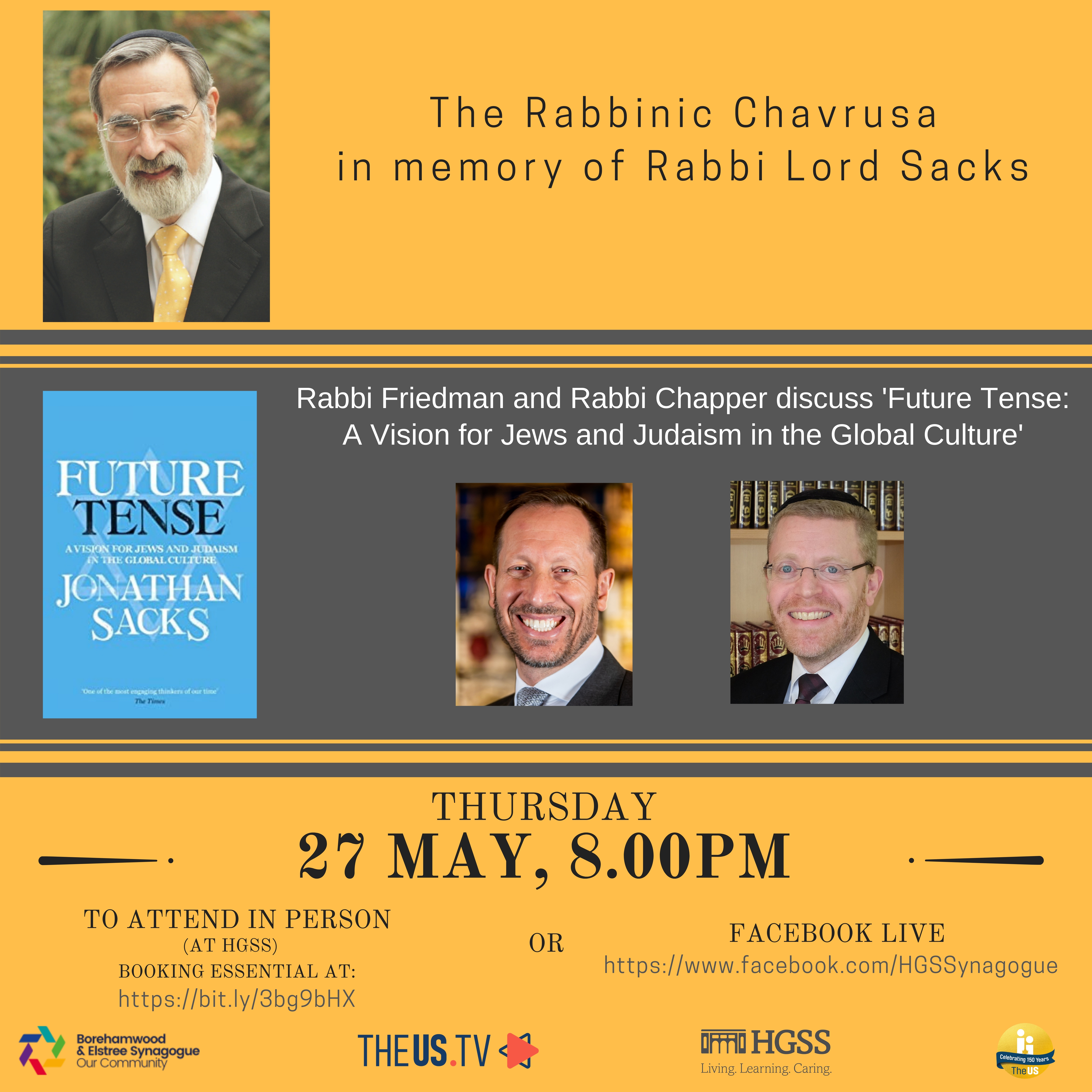 The Rabbinic Chavrusa @ HGSS & Facebook Live