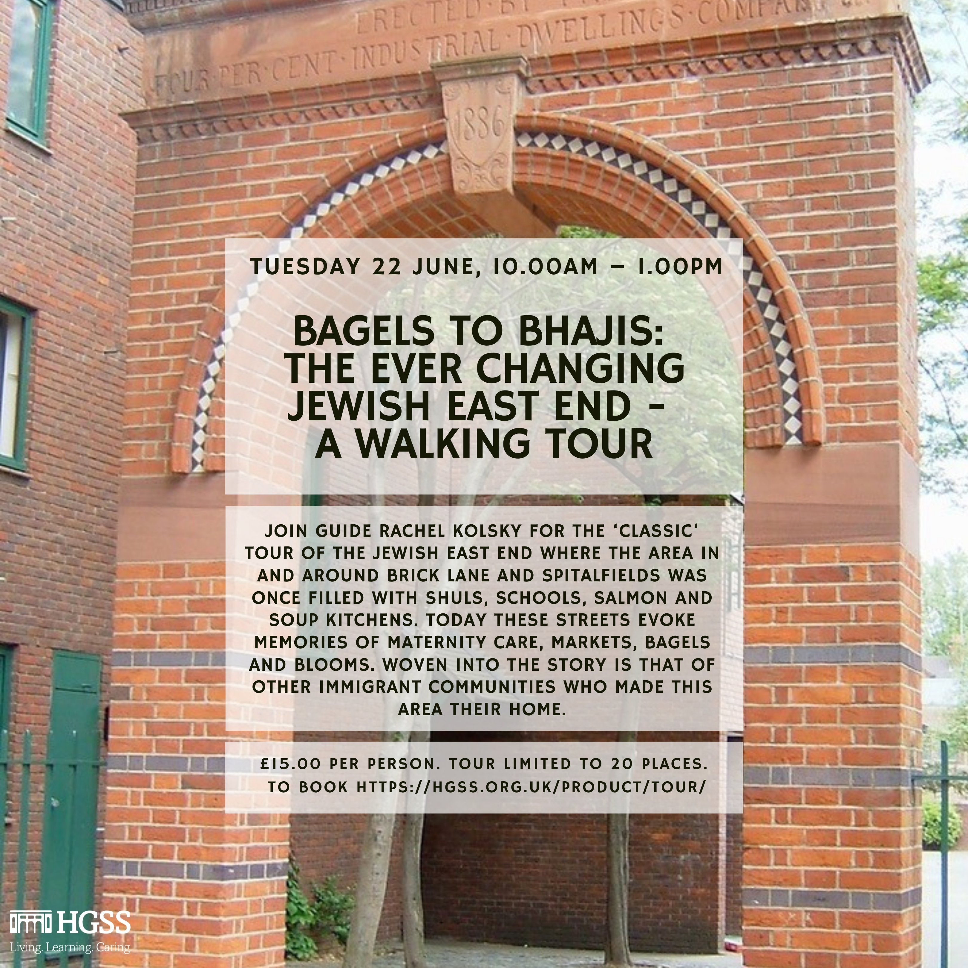 Bagels to Bhajis: The Ever Changing Jewish East End - A Walking Tour