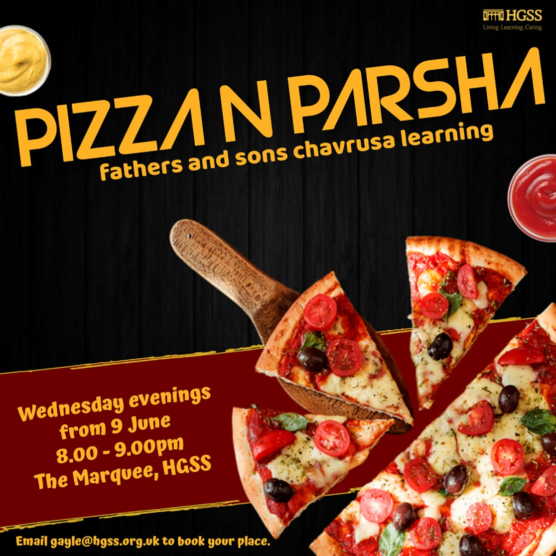 Pizza n Parsha @ The Marquee