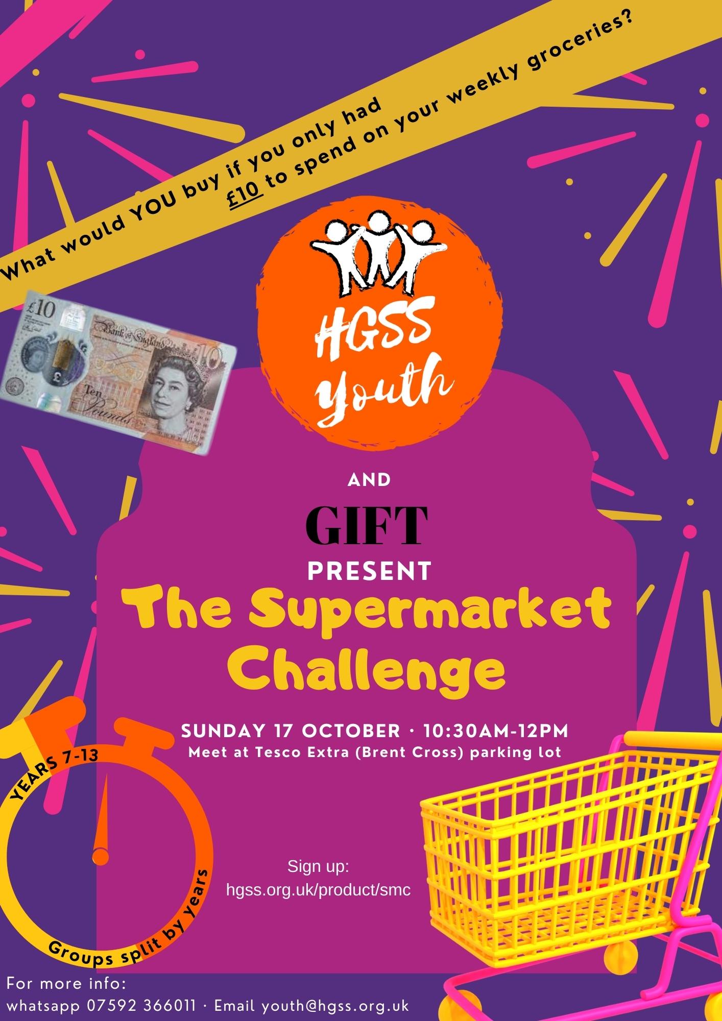 Supermarket Challenge @ Tesco (Brent Cross)