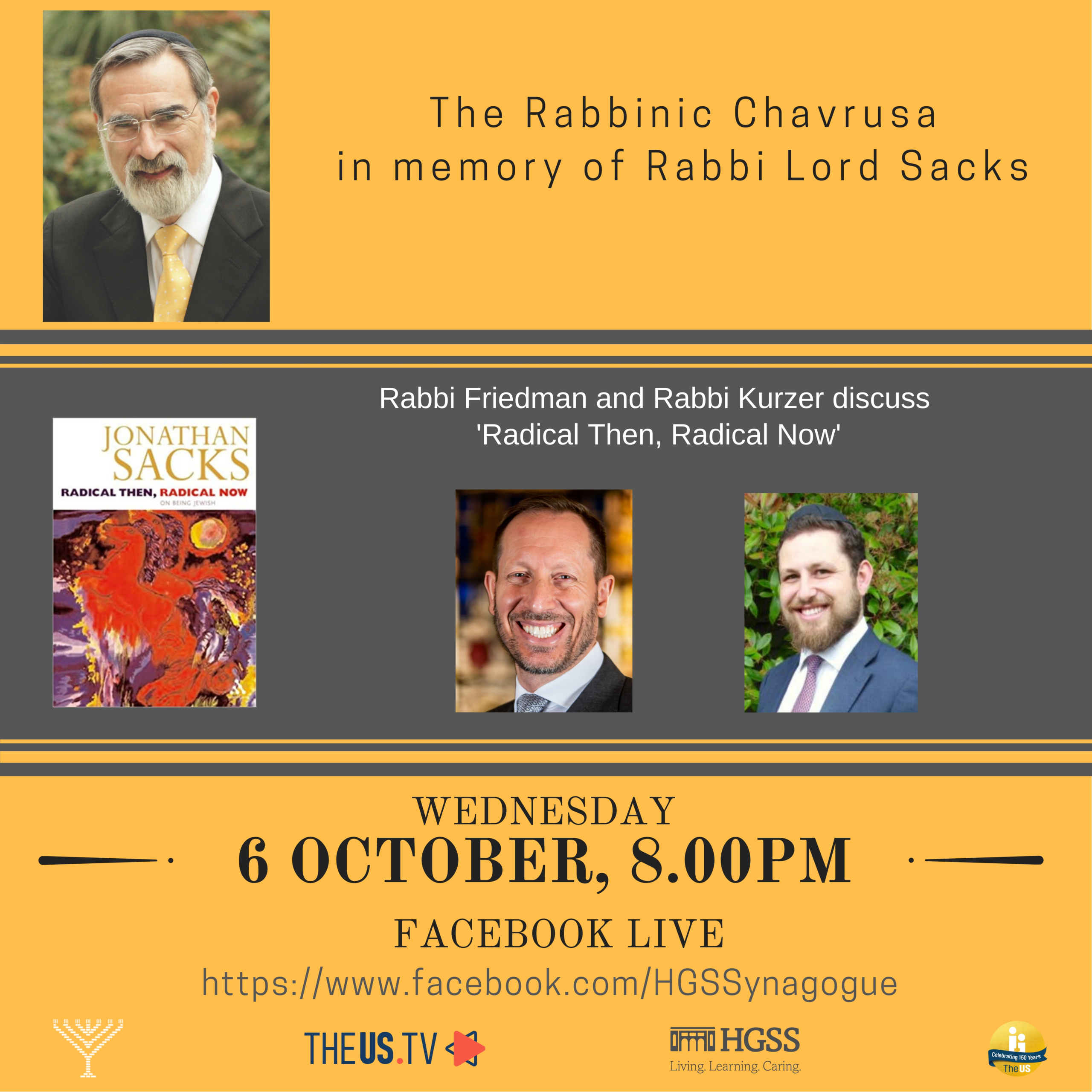 The Rabbinic Chavrusa @ Facebook Live