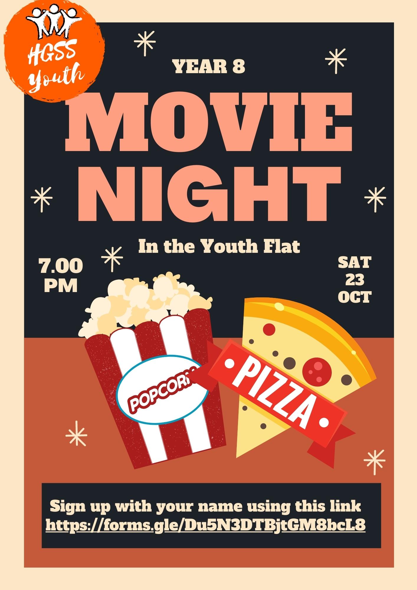 Movie Night Year 8